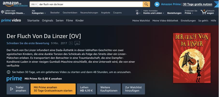 Distributor: Amazon.de