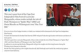 Cape Fear Independent Film Festival Joe Manganiello Kristine Kreska