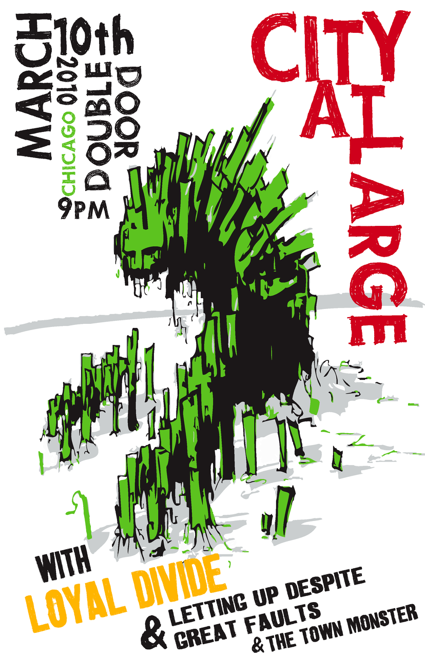 City at Large - Concert Poster