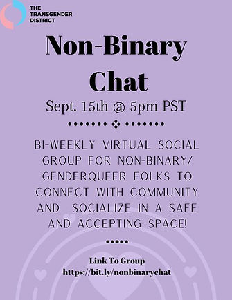 NonBinary Chat 9152020