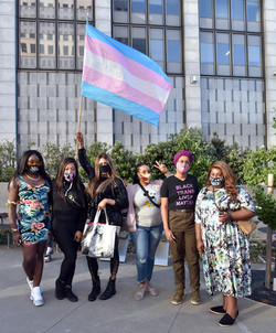 48hills: Tenderloin streets filled with trans activists, Compton's 2 Courthouse March