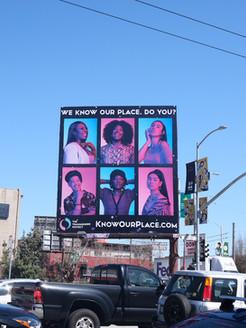 KnowOurPlace billboard