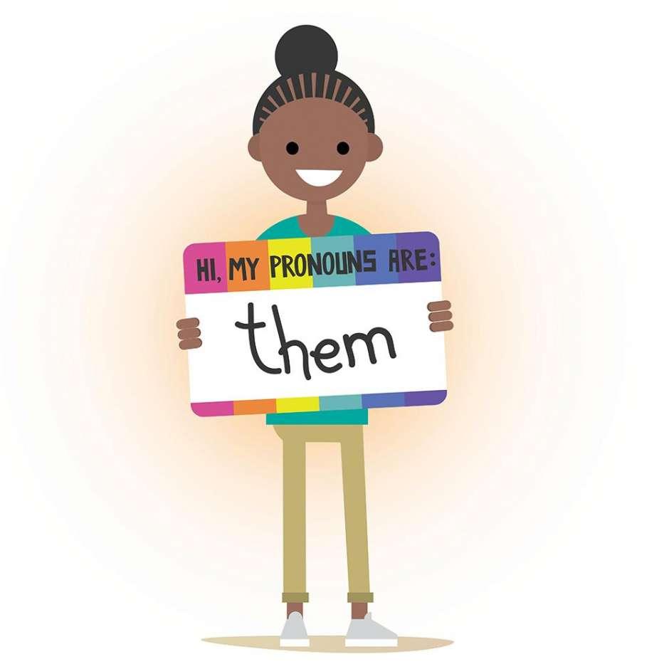 SF Chronicle: Transgender pronouns provi