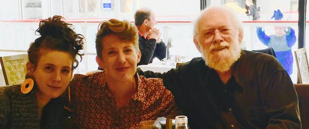 w/ Noémi Herzog and Barbara Lanciers in New York