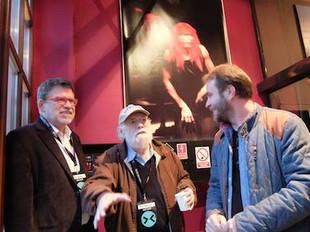 David Dower and Jarek Fret in Wrocław Poland