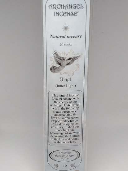 Archangel Uriel Incense Sticks-For Inner Light (20 sticks per pack)