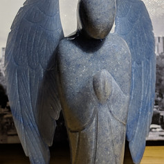 Blue Aventurine Angel