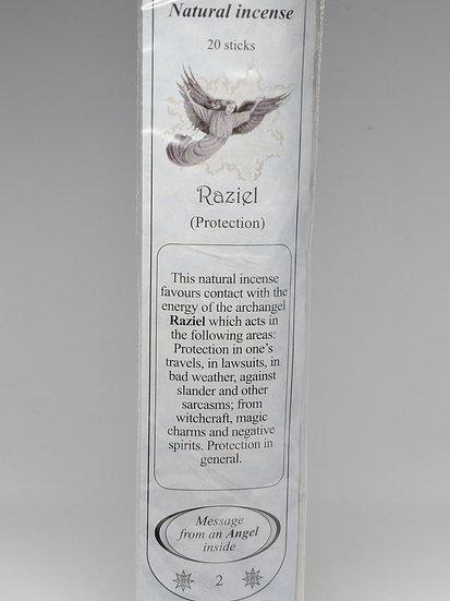 Archangel Raziel Incense Sticks- For Protection (20 sticks per pack)