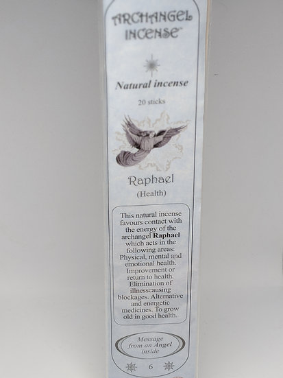 Archangel Raphael Incense Sticks- For Health (20 sticks per pack)