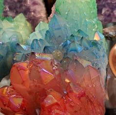 Multicoloured Aura Quartz