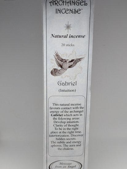 Archangel Gabriel Incense Sticks-For Intuition (20 sticks per pack)