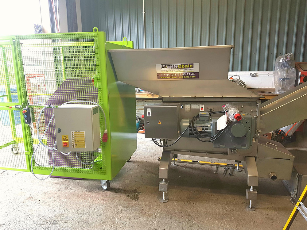 LiquiDrainer Machine by Compact and Bale