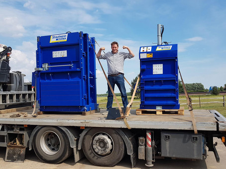 The power of Strautmann recycling balers - Questions to consider