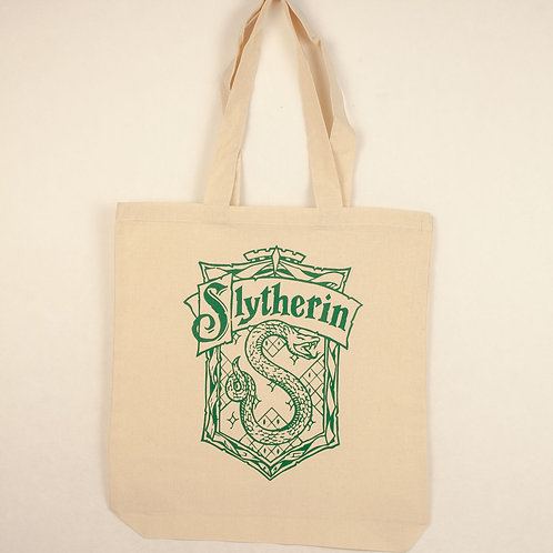 Slytherin House Tote Bag