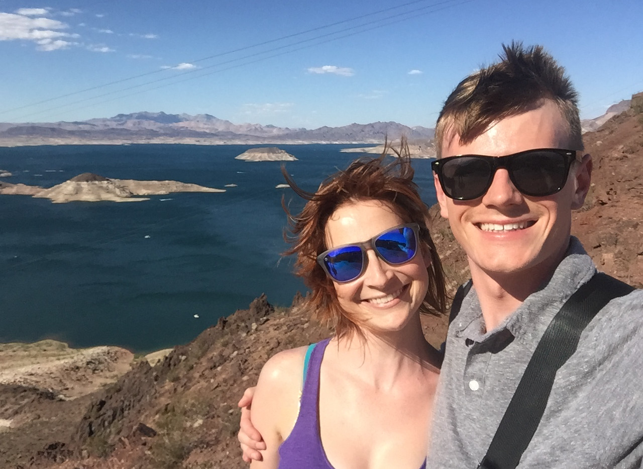 Near the Hoover Dam