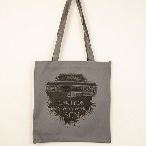 Carry on my Wayward Son Tote Bag- Small