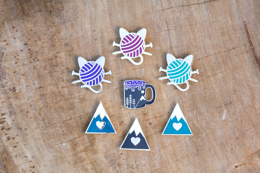 Announcing all our new enamel pins