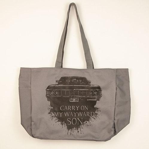 Carry on my Wayward Son Tote Bag- Medium