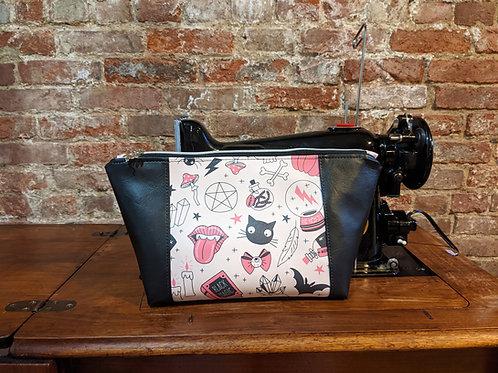 Spooky in Pink Peek-a-boo Beauty Bag