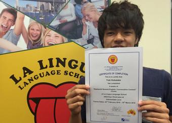 感想文「日常で使う活きた英語を実践を交えながら学ぶことができた」