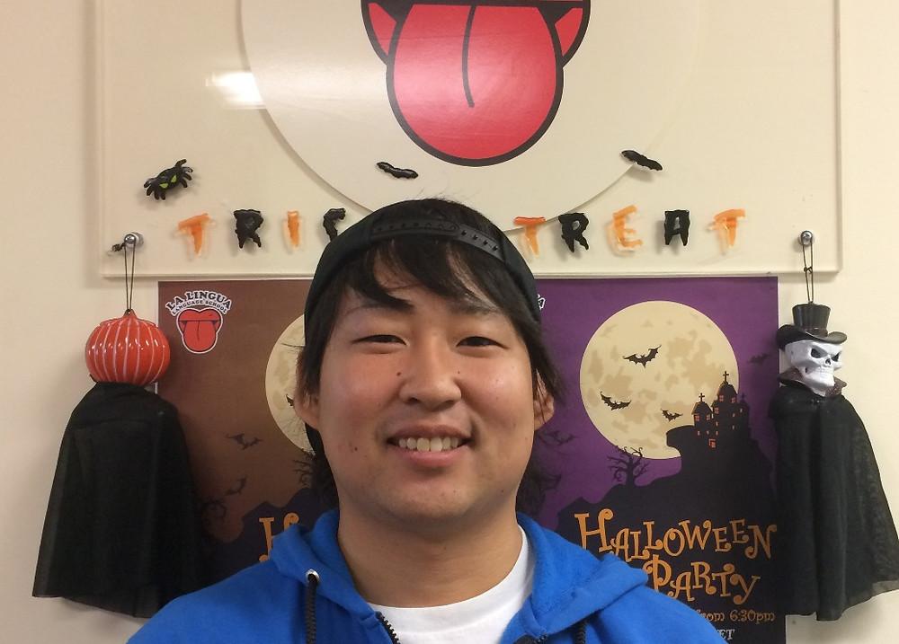 笑顔の卒業生 Hiroki