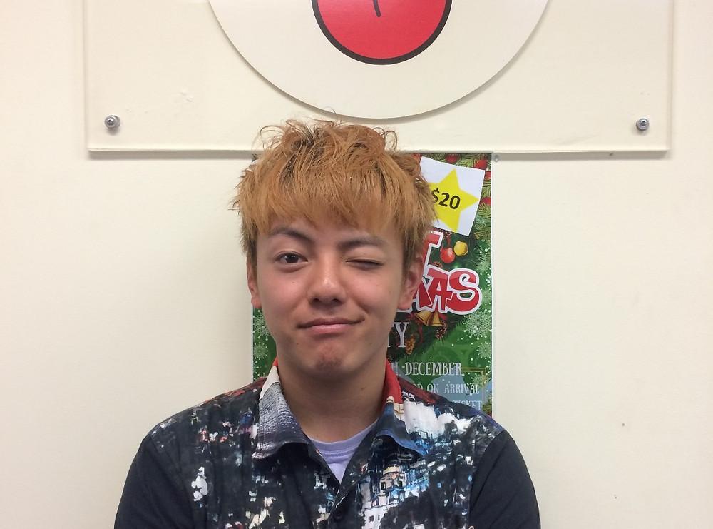 笑顔の卒業生 masataka