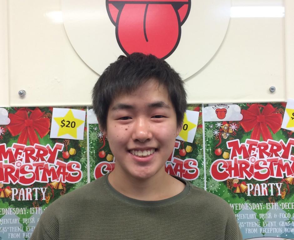 笑顔の卒業生 Yuki