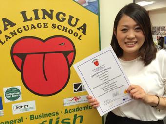 感想文「会話中心の授業だったので生活ですぐに使える英語を学ぶことができました」