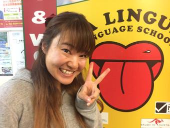 感想文「ラ・リングアの一般英語:会話中心に通っていたら気がついたら話せるようになってるって思えるレッスンで本当にここに来てよかったって思ってます!!」