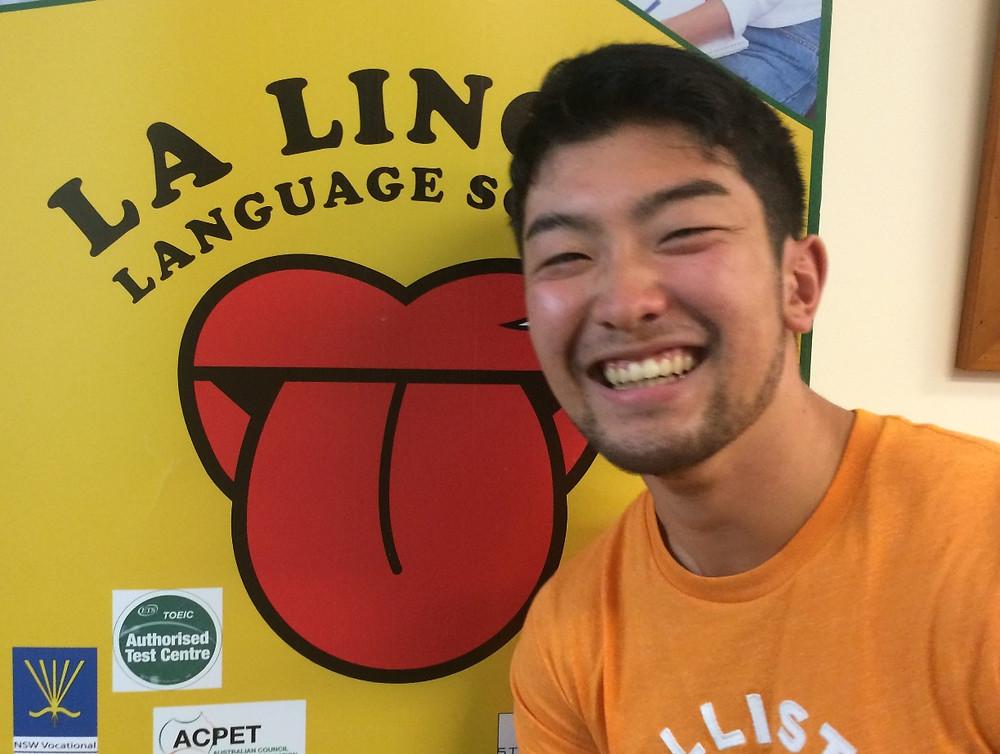 笑顔の卒業生 yodai