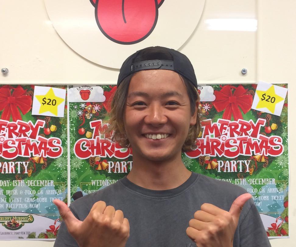 笑顔の卒業生 Tsubasa