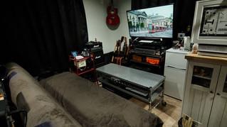 年末から約二週間かけてポスプロ対応の部屋に改装しました。