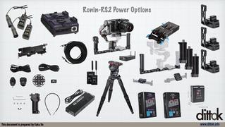 DJI Ronin-RS2 電源オプション