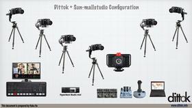 7カメ配信、収録にも対応
