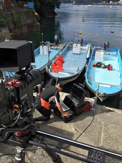 REDカメラで水中撮影