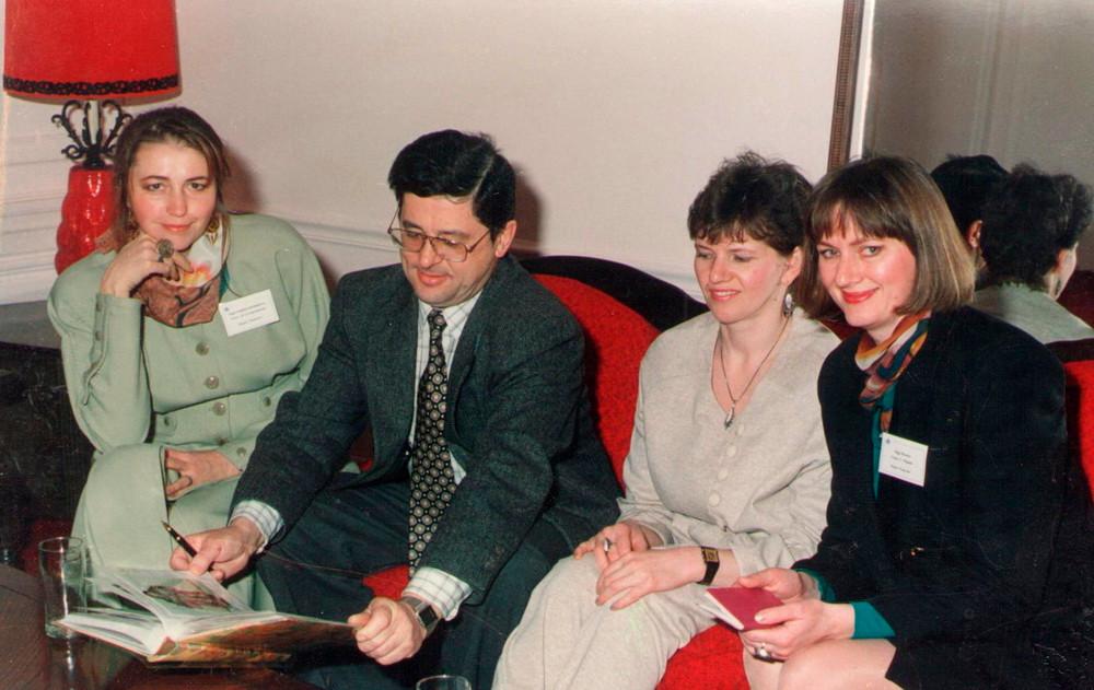 1996 на приеме в Российском торгпредстве