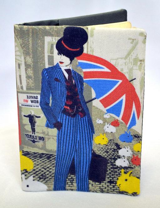 """Обложка для паспорта """"Лондонский стиль"""""""