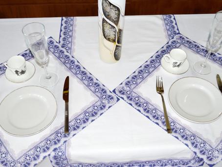 Новинка от Камелии - Классические салфетки и дорожки для сервировки стола