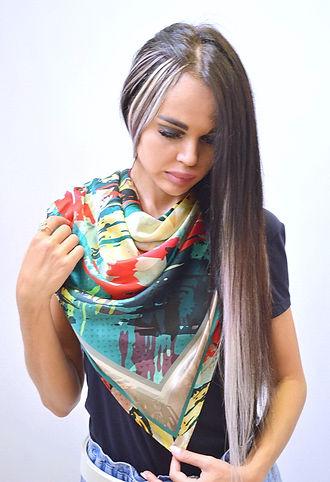 платок Граффити зеленый коррекц_новый ра