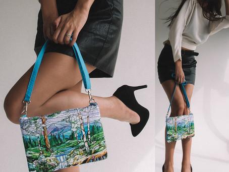 """Оригинальные сумочки кросс-боди с дизайном """"Тиффани"""" на каждый день"""