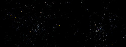 Double Open Star Cluster