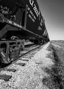 Train Black & White