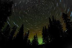 Star Trails Aurora