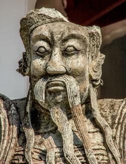 Chinese Royalty Broken Statue