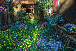 Chinese Flower Garden