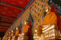 Sitting Buddhas