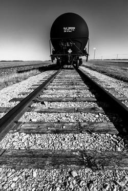 Tracks Black & White