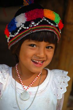 Village Girl Portrait