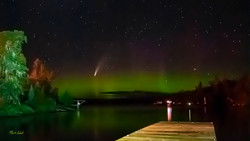 Comet Neowise & Aurora 2