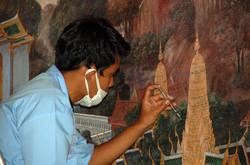 Temple Mural Artist